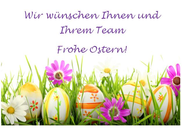 Das Team der ResiGo Hotelsoftware wünscht Frohe Ostern!
